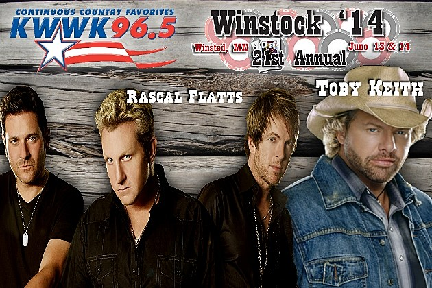 Rascal Flatts and Toby Keith