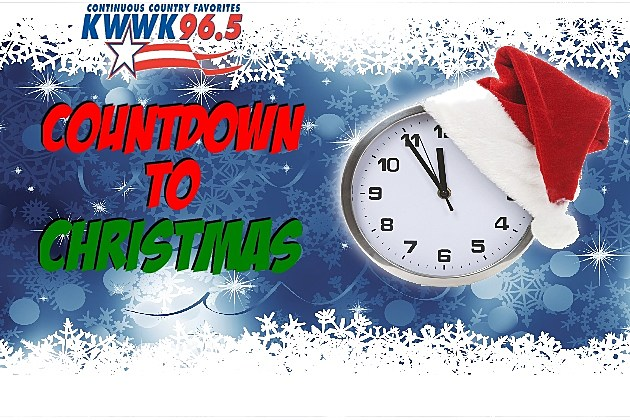 Clock with christmas border
