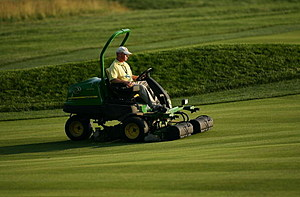 John Deere Mowers At The U.S. Open