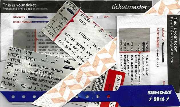 photo: ticket collage by Steve Richards ~ TSM Rochester, MN