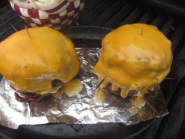photo: Steve Richards ~ TSM Rochester, MN 'Volcano' Potato just before it ERUPTS into flavor!
