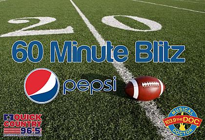 60 Minute Blitz w/Pepsi