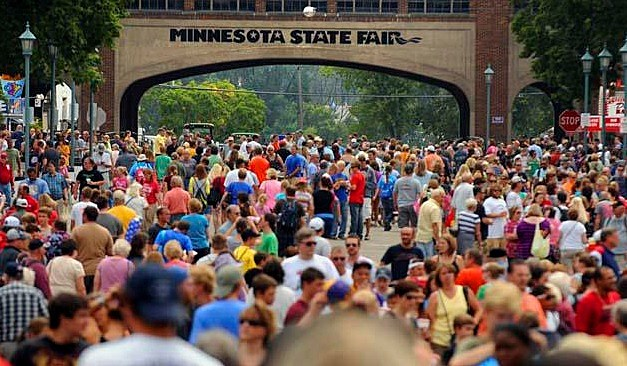Minnesota State Fair Ranked #1 in Nation   The Rock of Rochester