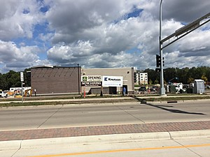 Panera Bread, under construction at 16th St and Mayowood Rd SW. (CSJ/TSM-Rochester)